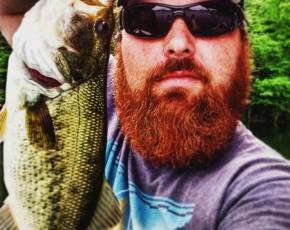 Large-mouth bass